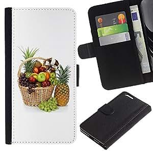 iBinBang / Flip Funda de Cuero Case Cover - Macro de frutas hermosas Frutas - Apple iPhone 6 PLUS 5.5
