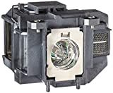 707 light bulb - QueenYii Compatible for EPSON EB-W16 EB-X11 EB-W16SK EB-X02 PowerLite HC 707 Replacement Projector Lamp with bulb inside