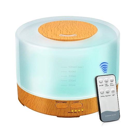 kbaybo 500 ml cool Mist humidificador ultrasónico Aroma ...