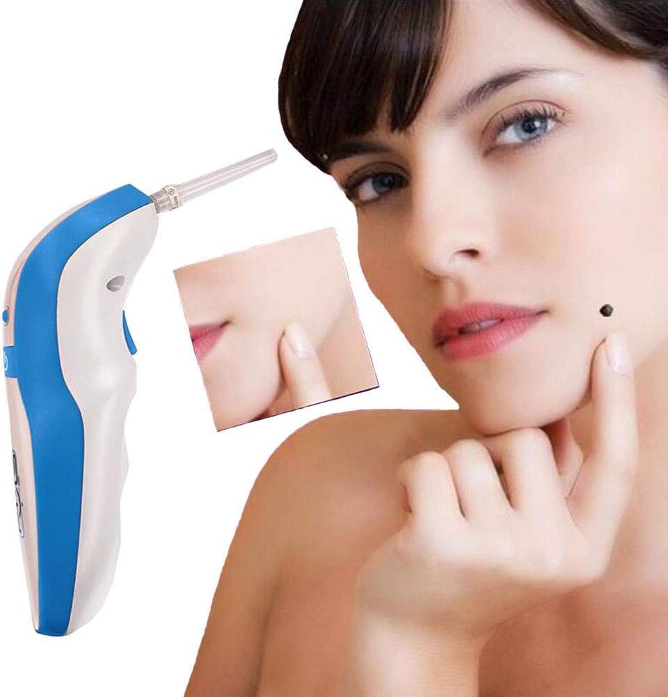 Mole Removal Pen Kit, Skin Tag Remover Kit Facial Lifting De Plasma De Cuidado De La Piel Para Eliminar Pecas/Mole Anti-Envejecimiento Belleza Equipo Herramienta (Unisex) Blanco