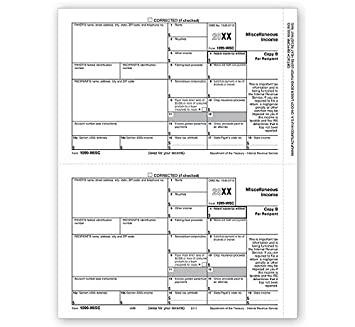 1099 form amazon  14 Laser Tax Forms - 14-MISC Income (Copy B) for 14 Recipients - Park  Forms
