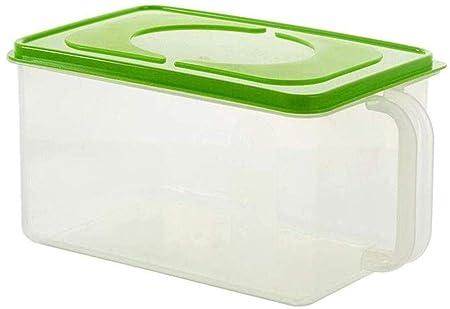 GYJ Rice Box Cocina Caja de Almacenamiento de los Materiales ...
