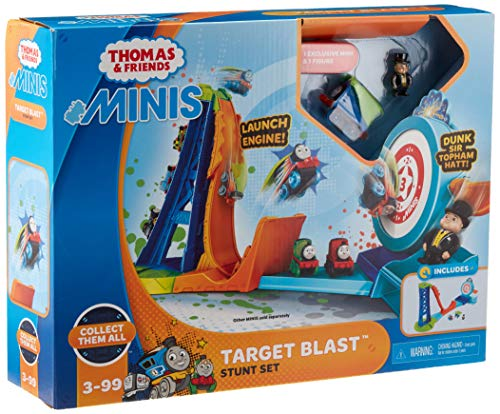 Fisher-Price Thomas & Friends MINIS, Target Blast Stunt - Train Tracks Game