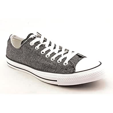 Converse Chuck Taylor All Star Lo Top White/Black Wool 135282F Mens 3 / Womens 5