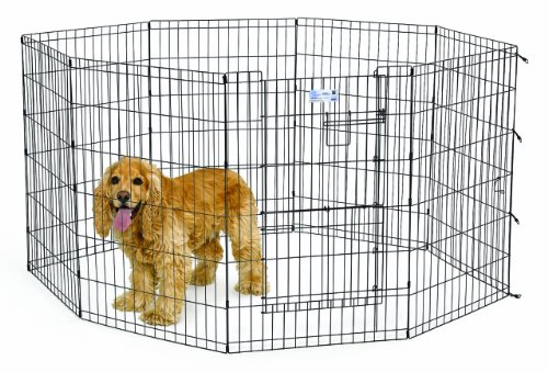 Cheap MidWest Homes for Pets MaxLock Exercise Pen for Pets