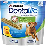 Purina DentaLife Daily Oral Care Large Dog Treats - 18 ct. Pouch