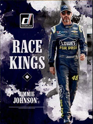 2019 Donruss Racing #1 Jimmie Johnson Lowe's/Hendrick Motorsports/Chevrolet Race Kings Official NASCAR Trading Card