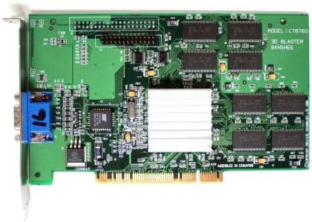 3D BLASTER BANSHEE CT6760 DRIVER PC