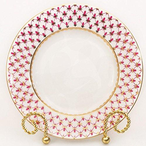 (Imperial / Lomonosov Porcelain Plate 'Net-blues')