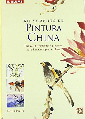Kit completo de pintura china/ Complete Kit of Chinese Painting: Tecnicas, Herramientas Y Proyectos Para Dominar El Arte