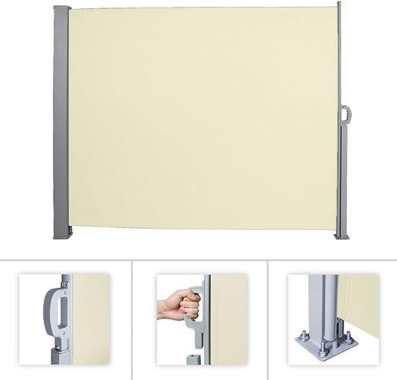 HG® laterales Toldo Lateral Protección Visual Toldo plástico ...