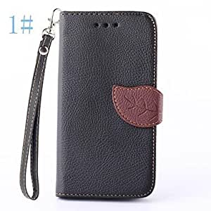 Leaves Pattern PU Leather Full Body Cover for LG G3 Mini (Assorted Color) ( Color : 5# )