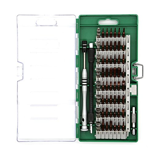 ACENIX New 60 Pcs Professional Tools Set Screwdriver Set Repair Tool Kit Fix iPhone Samsung Laptop Smartphone MacBook Xbox Electronics Torx Diver Set Ipad Tablet Cameras Electronic Toys by ACENIX®