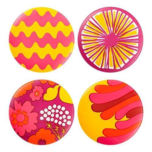 marimekko-for-target-salad-plates-4ct-pink-yellow