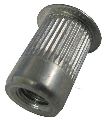 AKL250-20-165 Aluminum Thin-Nut, Large Flange Blind Rivet, Plain Finish, 1/4-20 x .030-.165 Grip Range (50 pack) by Master Rivet (Image #2)