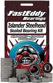 Islander Steelhead Center Pin Fishing Reel Rubber Sealed Bearing Kit