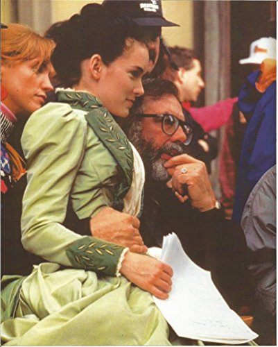 Dracula Picture Costume (Dracula Francis Ford Coppola hugging Winona Ryder in costume - 8 x 10 Production Photo - 004)