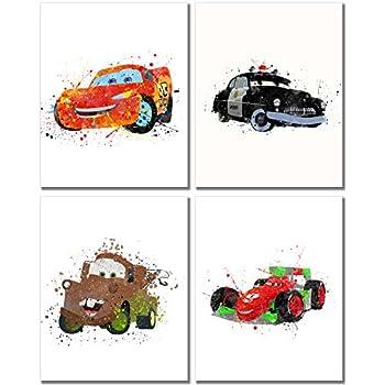 Amazon.com: Disney Cars 3 LED Canvas Wall Art, 15.75-Inch x 11.5 ...