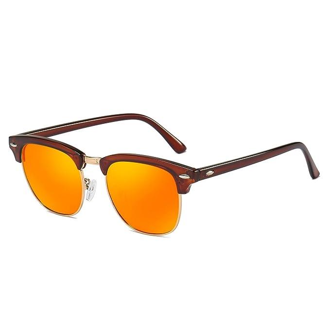 Mini Tree - Gafas de sol - para hombre marrón/naranja Large