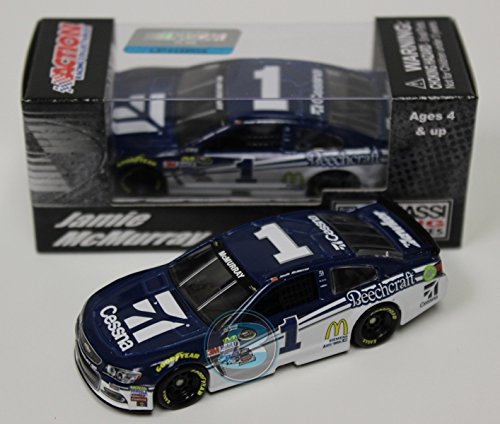 Arc Aircraft Cessna - Lionel Racing CX16865CEMC Jamie McMurray # 1 Cessna Chevrolet SS ARC HO NASCAR Official Diecast Vehicle (1:64 Scale)