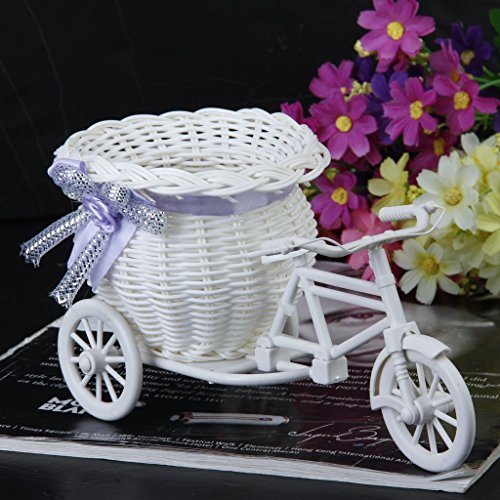 Handmade Tricycle / Bike Shape Flower Basket for Flower Storage /Arrangement home decor wedding decoration Gift