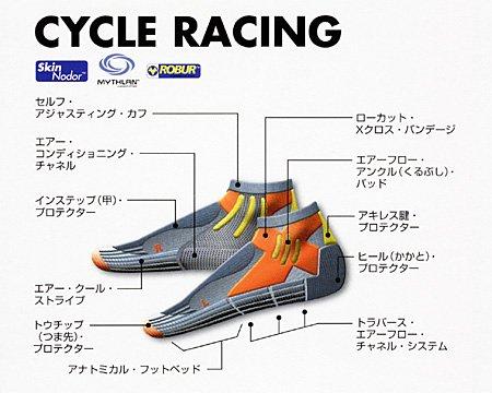 X-Socks Funktionssocken Biking Racing
