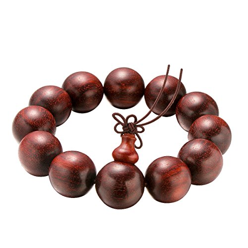 Romatic Time 20mm Coffee Rosewood the Beautiful Good Mala Beads for Devout Christians