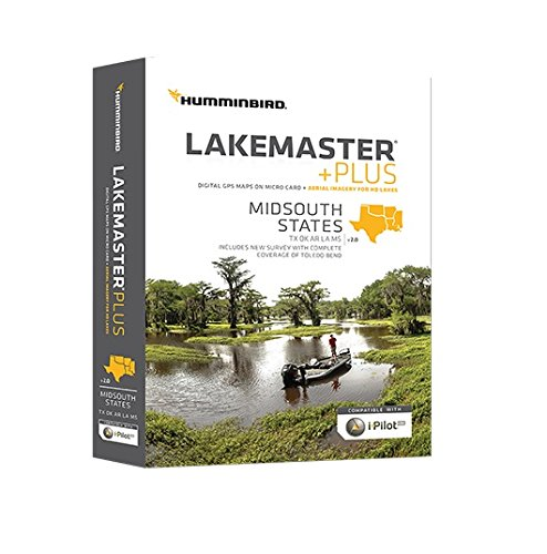Humminbird 600009-6 Lakemaster+ Maps, Mid-South
