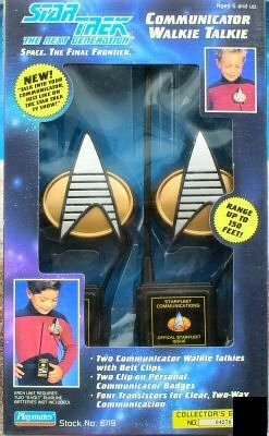 Star Trek Communicator Walkie Talkie Set by Star Trek (Image #1)