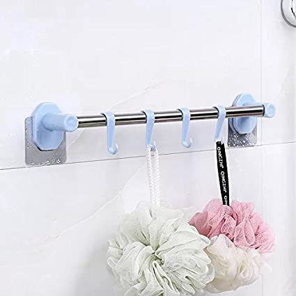 Superbe VONOTO Drill Free Wall Towel Hook Rack For Bathroom, Kitchen Hooks Cups  Towel Bars Holder