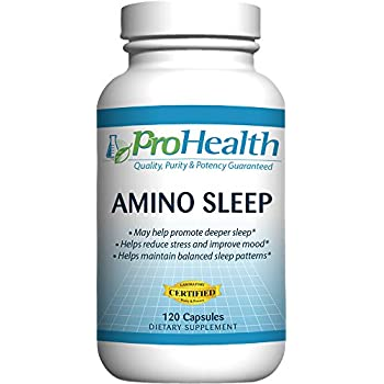 Amazon.com: prohealth Amino Dormir (120 Cápsulas) (naturales ...
