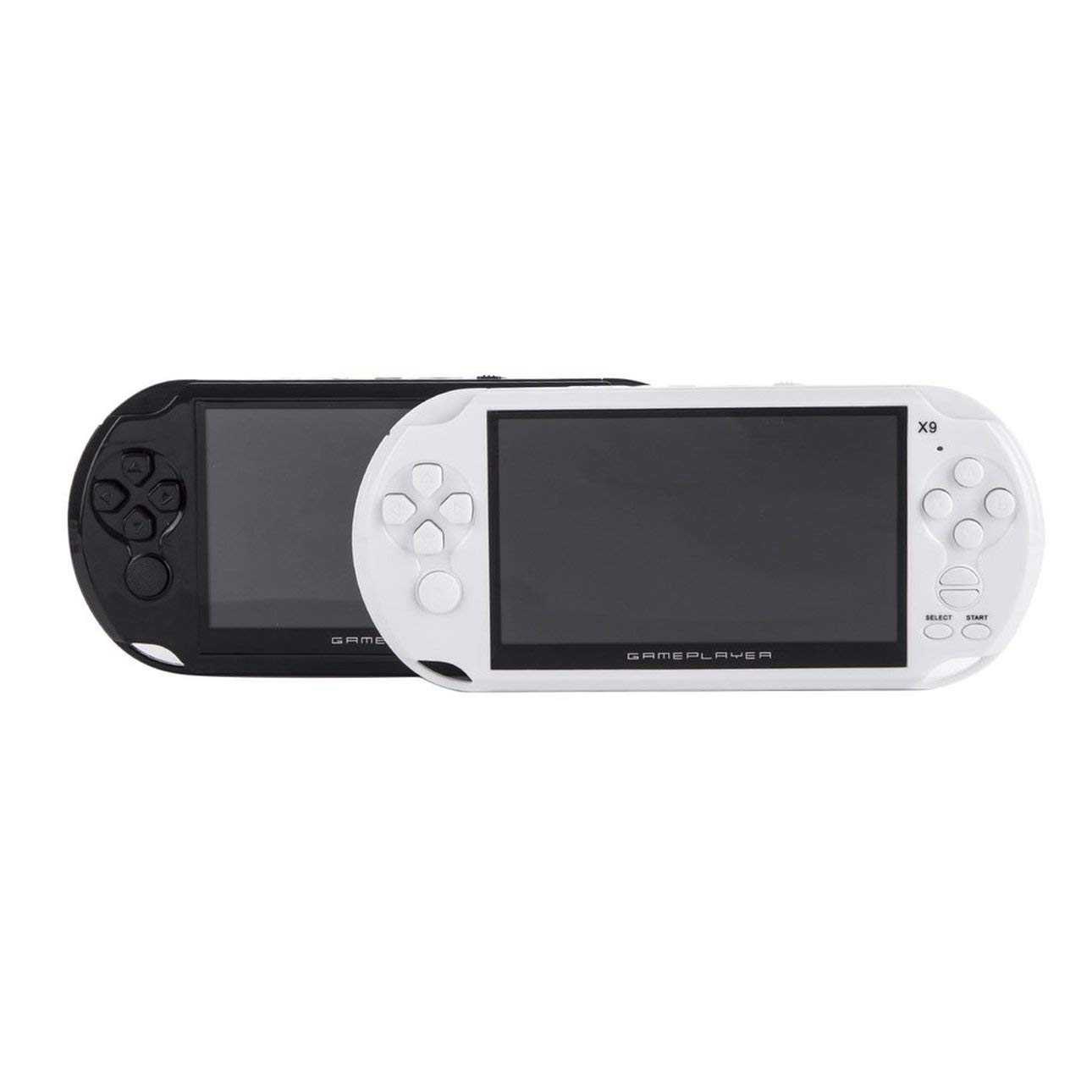Smartlove1P Portable Size 5.0 Inch Large Screen 8GB Game Console Handheld Game Player MP3 Player Gamepad with Classic Games by Smartlove1P (Image #10)