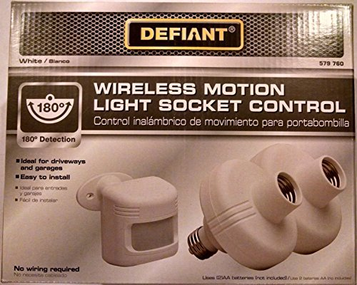 Amazon.com : 180-Degree Outdoor White Sensor with Motion Adapters : Camera & Photo
