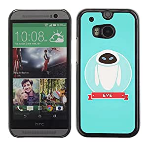 Impact Case Cover with Art Pattern Designs FOR HTC One M8 Character Space Blue Cute Betty shop