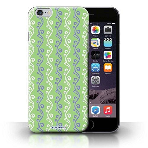 iCHOOSE Print Motif Coque de protection Case / Plastique manchon de telephone Coque pour iPhone 6+/Plus 5.5 / Collection vigne / Vert