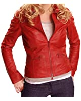Emma Swan Red Leather Jacket - Once Upon a Time Jacket ►Best Seller◄