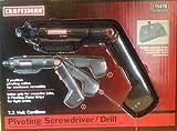 Craftsman Pivoting Screwdriver / Drill 7.2 Volt Cordless