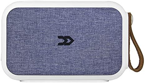 Avenzo AV648AZ - Altavoz Bluetooth NFC, Color Blanco y Azul Denim
