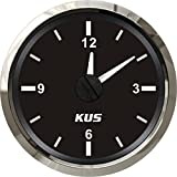 KUS DN52mm Black Clock Meter PN: KY09000 (Black)