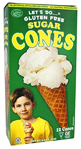 Let's Do Organics Sugar Cones, 4.6 oz