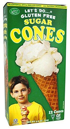 gar Cones, 4.6 oz (Gluten Free Organic Ice Cream)