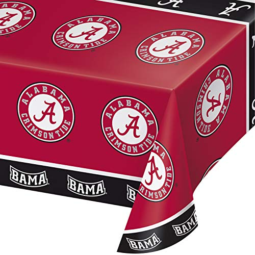 University of Alabama Plastic Tablecloths, 3