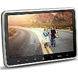Alondy 10.1 Inch HD 1024 x 600 HDMI USB SD IR/FM Ultra Thin Digital Touch Key LCD Screen Car DVD Player Headrest Monitor