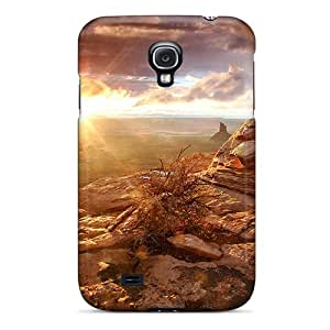 Premium [qWb12386HzEG]desert Sunset Cases For Galaxy S4- Eco-friendly Packaging Black Friday