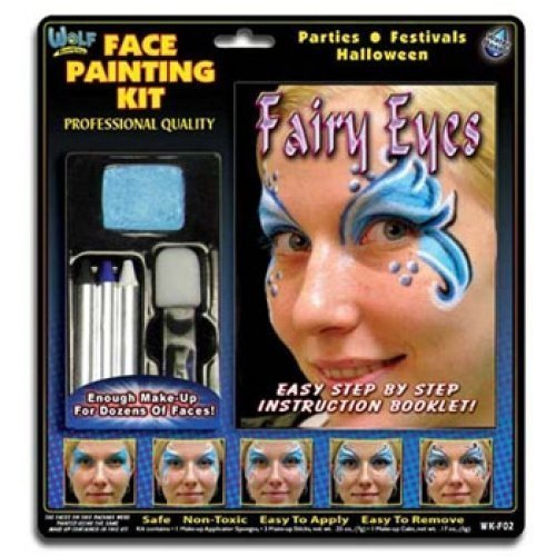 Wolfe FX Kits - Fairy Eyes (4 (Detailed Halloween Face Paint)