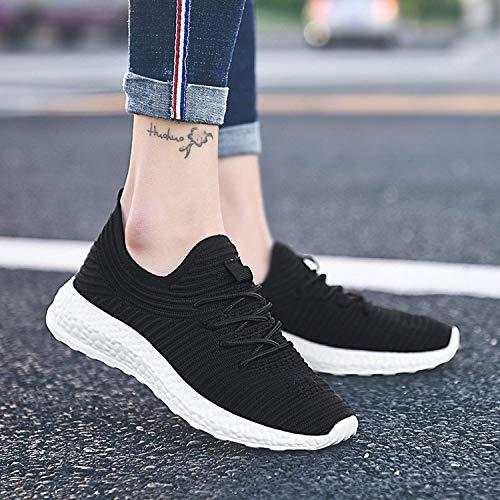 Tiosebon Sneaker Black 42 2116 Donna Hk8258w Nero rxr5Pq08w