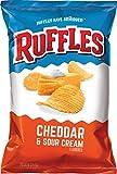 Ruffles Potato Chips, Cheddar and Sour Cream, 8.5 oz