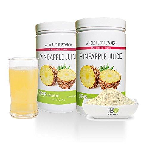 Nubeleaf Pineapple Juice Powder 14oz Jar