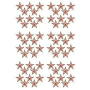 Beistle S58048AZ6 Mini Star Cutouts 60 Piece, Multicolored