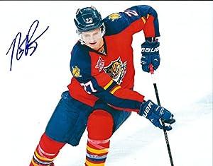 Autographed 8x10 Nick Bjugstad Florida Panthers Photo - W/coa